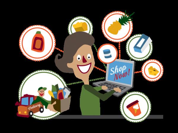 Inaugurándome como compradora de Supermercados Online