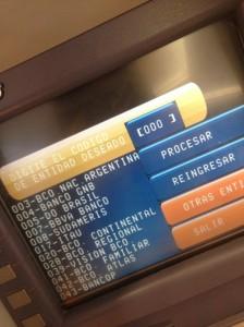 Transferir dinero de una cuenta bancaria a otra a través del cajero automático - paso4