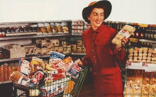 La aventura de ir al Supermercado, según pasan los años