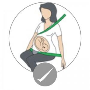 Embarazada cinturon