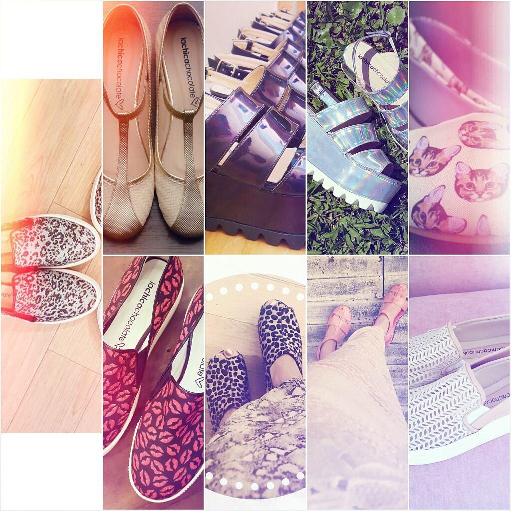 La Chica Chocolate zapatos