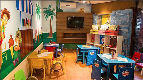 zona de niños - restaurante o gaucho