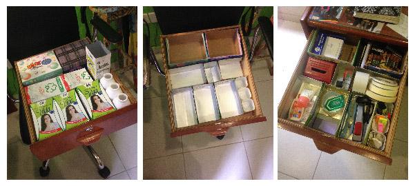 Organizar cajones de los escritorios | Frugalisima