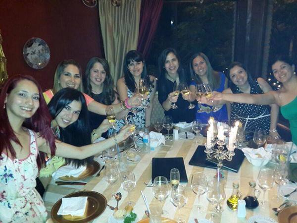 Reunión de fin de año 2013 en (el ya desaparecido) Restaurant Gambini.