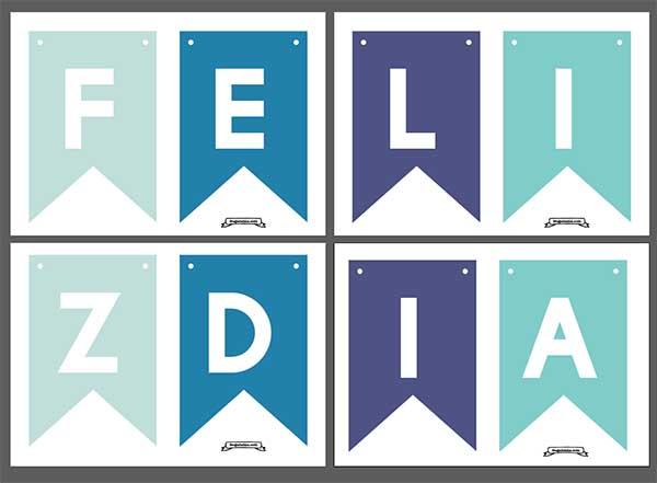 Banderines Dia del padre - imprimibles gratis - frugalisima