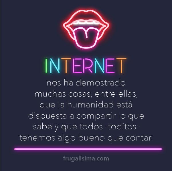 Por qué compartir tus conocimientos en internet es un gran negocio | Frugalisima
